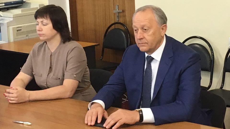 Выборы Саратовского губернатора. Валерий Радаев подал документы на регистрацию