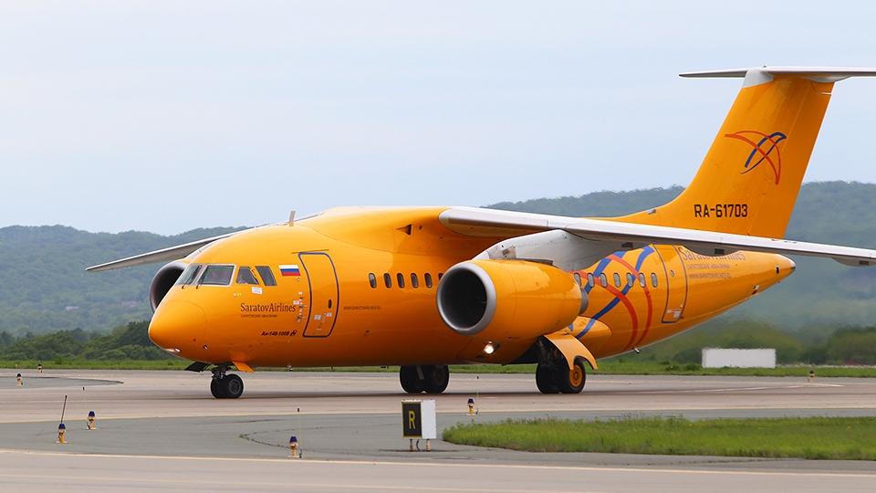 ВСаратове незапланированно сел самолет рейса Киров-Симферополь