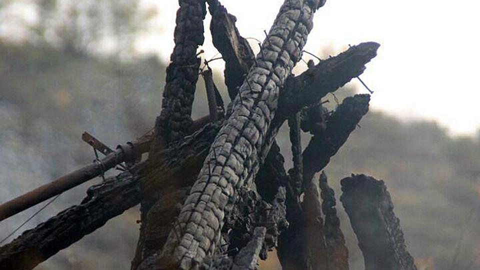 Запертый всарае ребенок умер вовремя пожара. Оглашен вердикт матери
