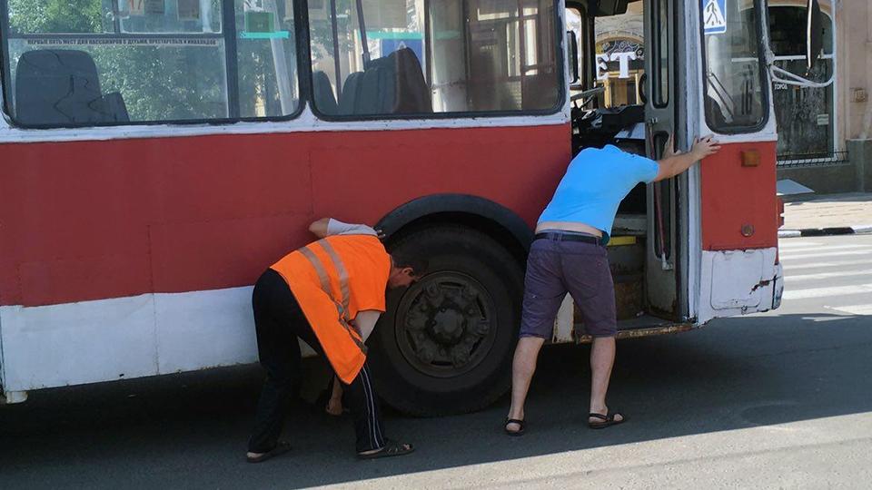 ВСаратове закрыт троллейбусный маршрут