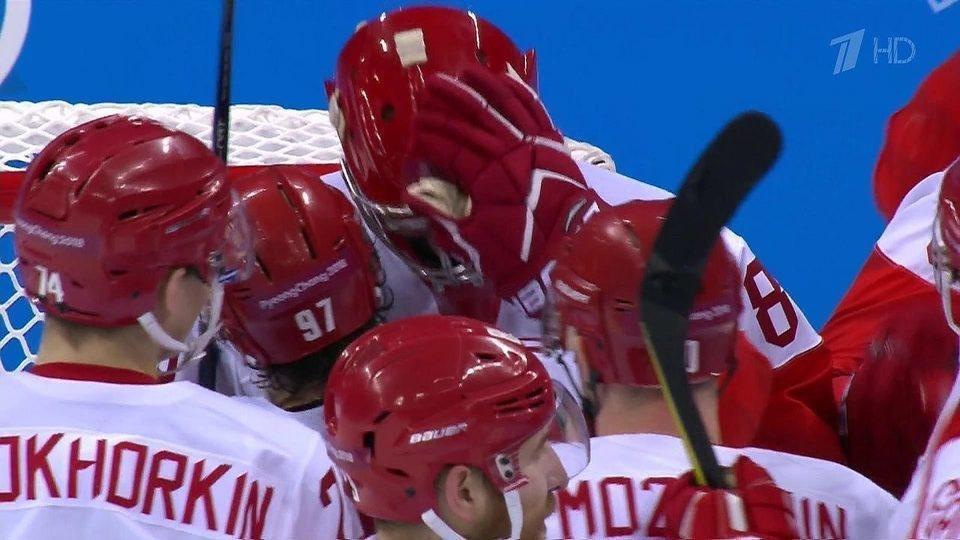 Русские хоккеисты впервый раз стали олимпийскими чемпионами&nbsp