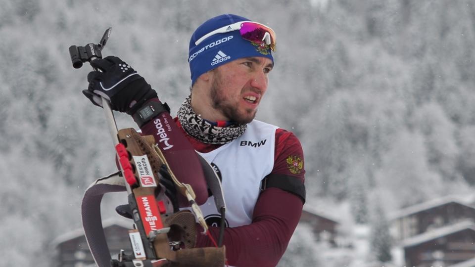 Александр Логинов одержал победу гонку преследования наКубке IBU вХанты-Мансийске