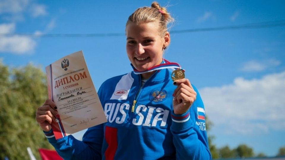 Каноист, представляющий Воронежскую область, завоевал очередное «золото» Кубка Российской Федерации