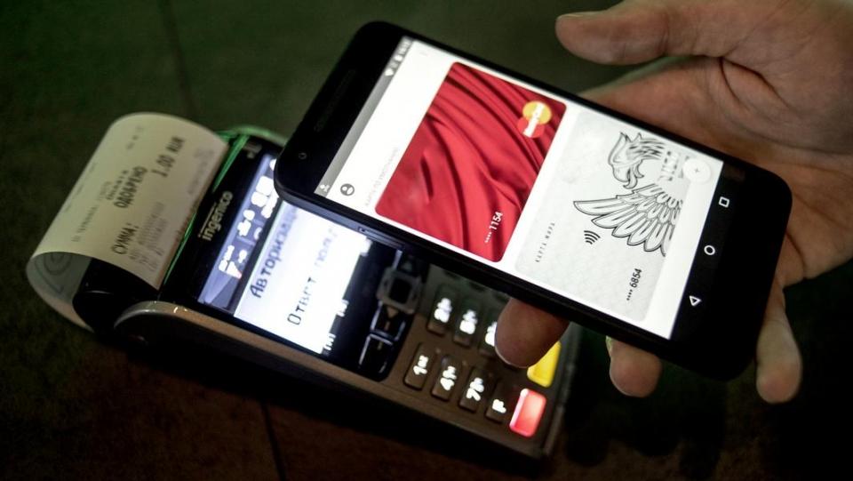 Оплата запокупки при помощи телефона в РФ становится популярней