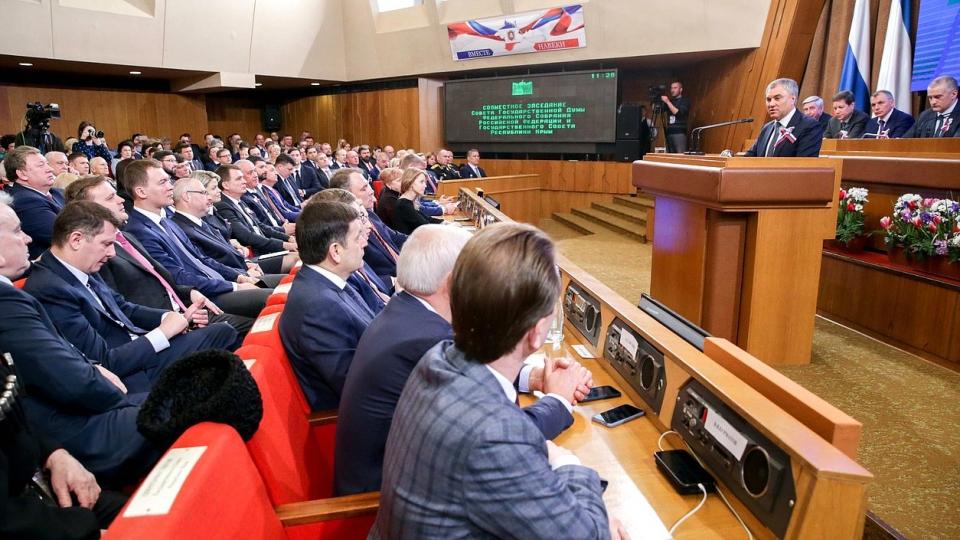 Володин призвал вынудить государство Украину восполнить Крыму потери за25 лет