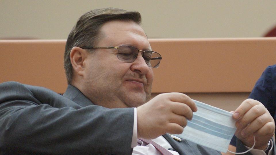 Зампред саратовского правительства Сергей Наумов заболел COVID-19
